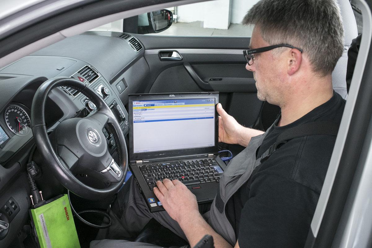 Reparaturen - Fahrzeugdiagnose